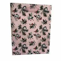 Pink Fancy Printed Paper Bag, Capacity: 2kg