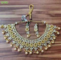 Brass Golden Antique Necklace