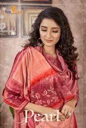 Tunic House Pearl Velvet Winter Pashmina Dress Material Catalog