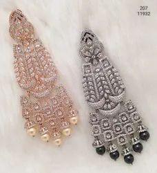Cubic Zirconia Fashion Earring