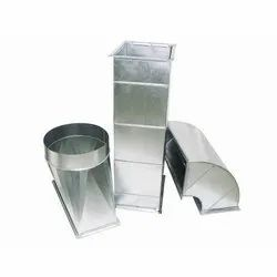 Galvanized Iron Industrial Ducting Systems, Capacity: 15000 Cmh