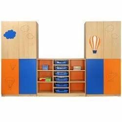 School Storage Shelf