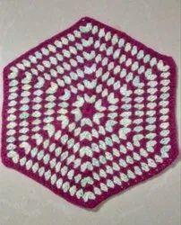 Crochet Hexagon Doily