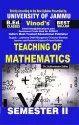 Jammu B.ed. 2nd Sem (e) Teaching Of Mathematics (e) Vinod Publications