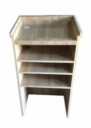 Wooden Lectern Podium, For Colleges