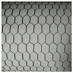 Silver SS Hexagonal Wire Netting, Material Grade: SS304, Thickness: 5 Mm