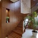Silver Satinless Steel Ss Glass Railing, For Home, Hotel And Villa, Material Grade: 202, 304 And 316