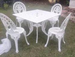 Aluminium Powder Coated Aluminum chair, For Outdoor