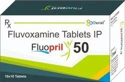 Fluvoxamine Maleate 50 Mg Tablets (fluopril 50)