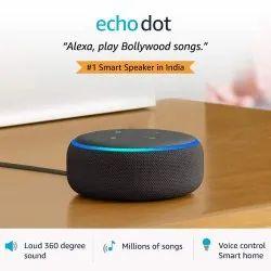 5W Black Echo Dot 3rd Generation