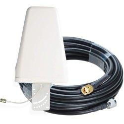 High Gain 12 dBi Outdoor LPDA Antenna With SMA Male To N Male Connector Cable - 25 Meters