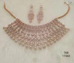 AD Stone Precious Necklace