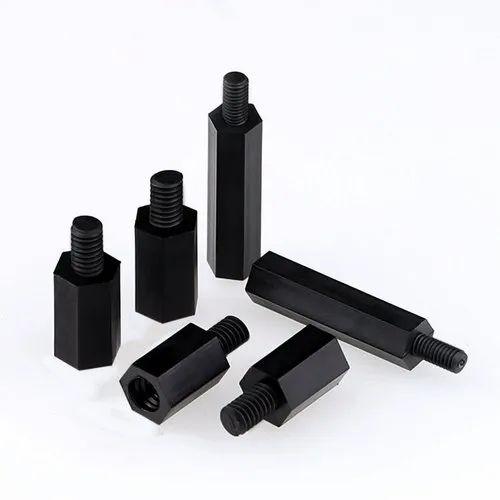 Hexagonal Plastic M3 Female Pillar Hex Standoff Spacer PCB Nylon Black
