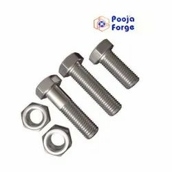 Nut Bolt High Tensile, For Automobile Industry, 10 Pc