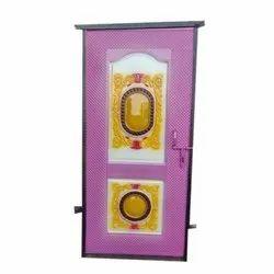 Purple Stylish Iron Door, For Home, Single