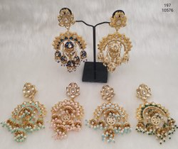 Meenakari Fancy Fashion Earrings