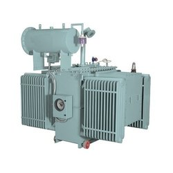 Three Phase Mild Steel Oil Cooled Electrical Power Transformer, For Industrial, 430 V