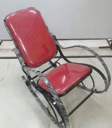 Stainless Steel Rocking Chair