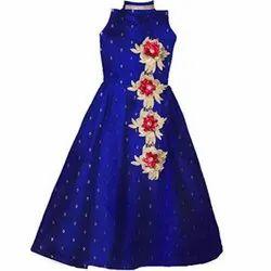 Blue Girls Gown