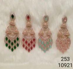 Fashion American Diamond Earring
