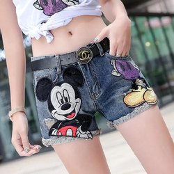 Mickey Mouse Girls Shorts