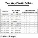 Two Way Plastic Pallets