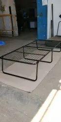 Metal Black Blumuno Folding Bed (6x3)
