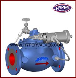 Back pressure sustaining valve