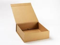 Plain Cardboard Corrugated Gift Packaging Box, Size/Dimension: 1 X 0.9 X 0.5 Feet