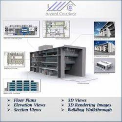 Cad Modelling Building Interior & Exterior Designing Services, in Bengaluru