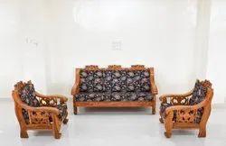 Teak Wood Sofa Set, For Home