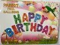 Happy Birthday Foil Balloons Banner