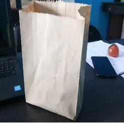Waterproof Brown Meat Kraft Paper Bags, Capacity: 5kg