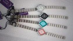 Women Rectangular Ladies Kite Wrist Watch, For Formal