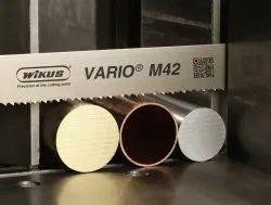 Alloy Wikus Bimetal Band Saw Blades - M 42 - Vario, For Industrial, Shape: Roll