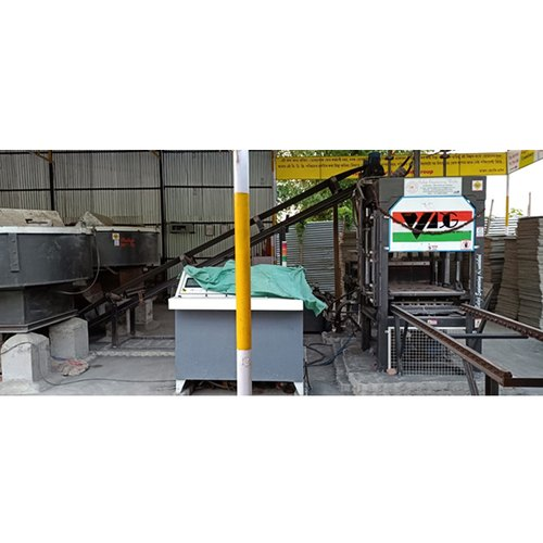 Automatic Concrete Paver Block Machine