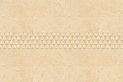 Matt Tunis BG Decor Bathroom Wall Tile, Thickness: 5 mm