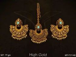 Antique Jewellery Maang Tika