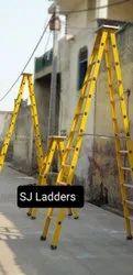 FRP A Shape Ladder With Aluminium Steps