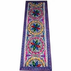 Cotton Rectangular Embroidery Table Runner
