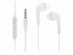 White Datalact Extra Deep Bass In-Ear Headphone, Model Name/Number: Earphone 13