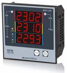 Multispan Three Energy Meters, RS-485, Model Name/Number: AVH-13N