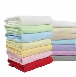 100% Cotton Red Knitted Fabrics, For T shirts, Undergarments, GSM: 150-200