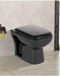 Black Roca One Piece Toilet Seat