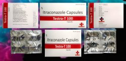 Itraconazole 100 Mg (mono Packing) Testra-t 100