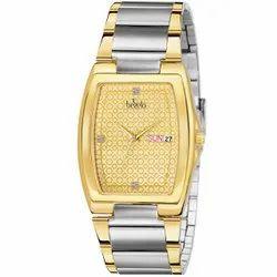 Bezelo Golden Dial Wrist Watches