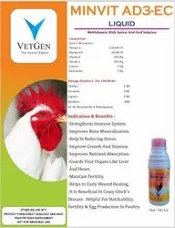 MULTIVITAMIN AD3EC, Packaging Type: HDPE Bottle
