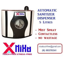 5 Litres NIXA Automatic Sanitizer Dispenser