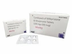 Mifpristone And Misoprostol Tablet Combipack
