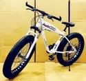 Audi Shark White Fat Tyre Cycle